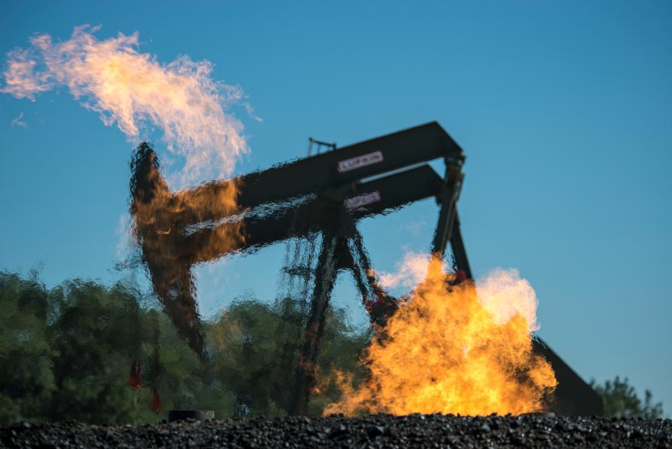 quema de gas en Estados Unidos