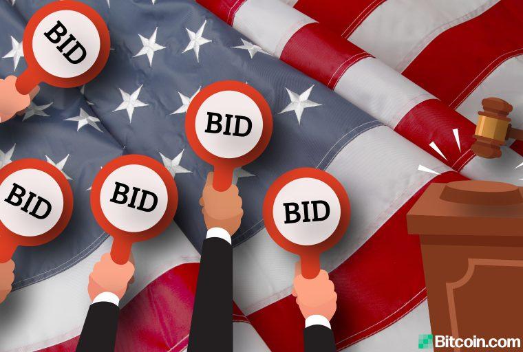El gobierno de los Estados Unidos vende bitcoins por valor de $ 37 millones en la subasta en 2 semanas